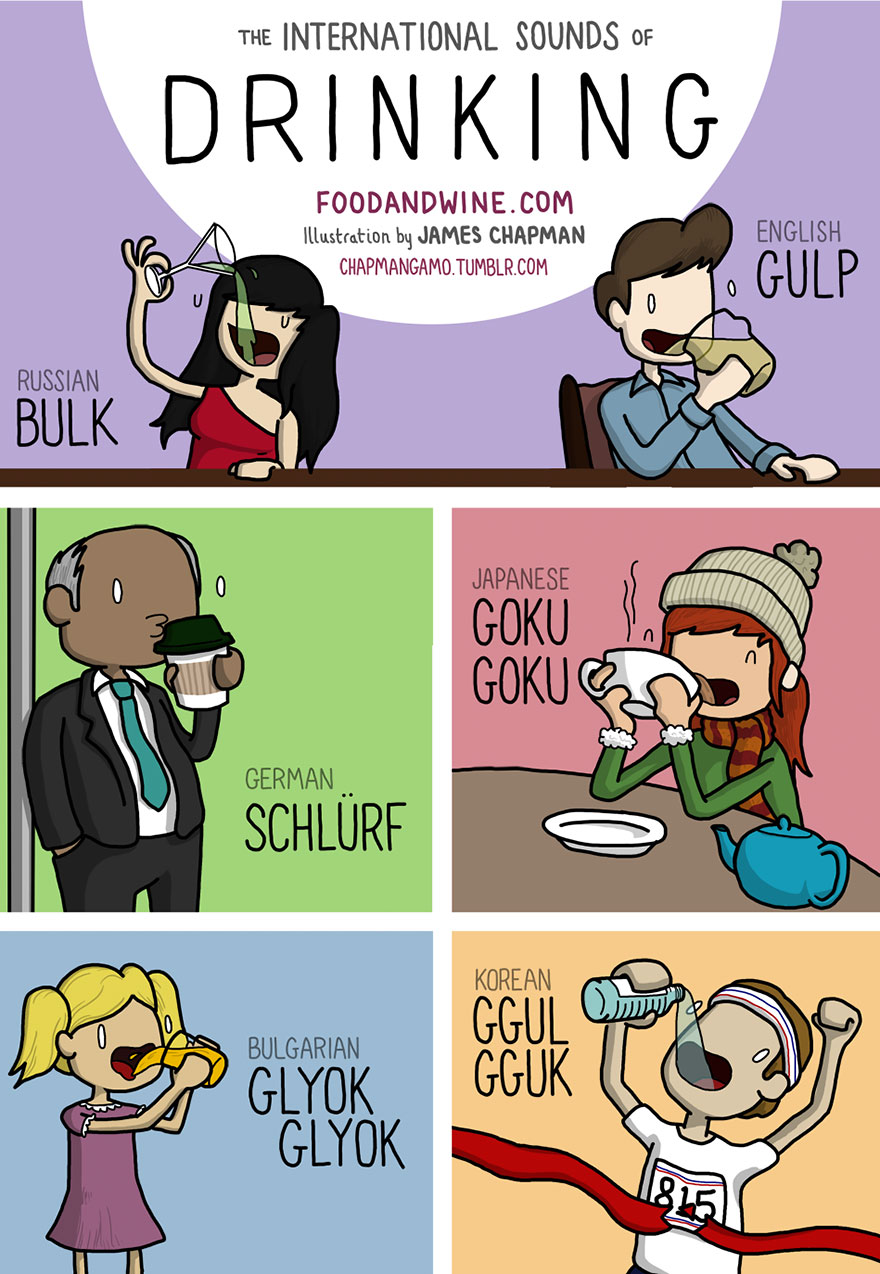 drink in different languages