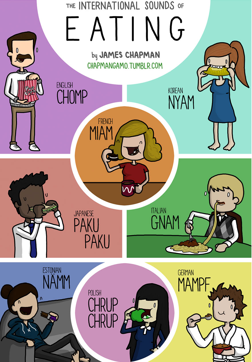 eat in different languages