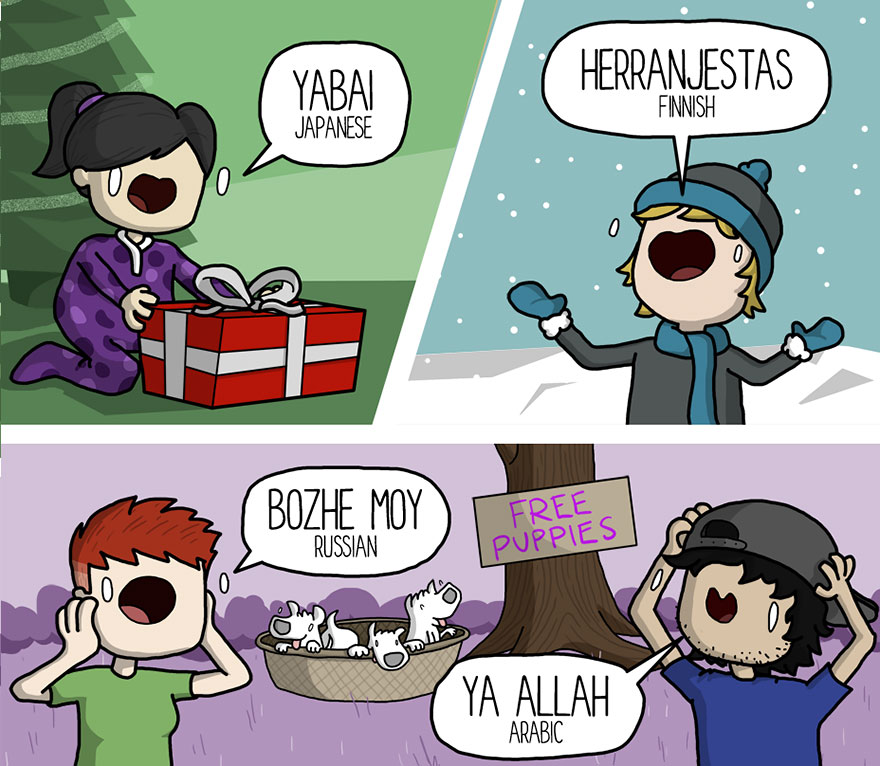 joy in different languages