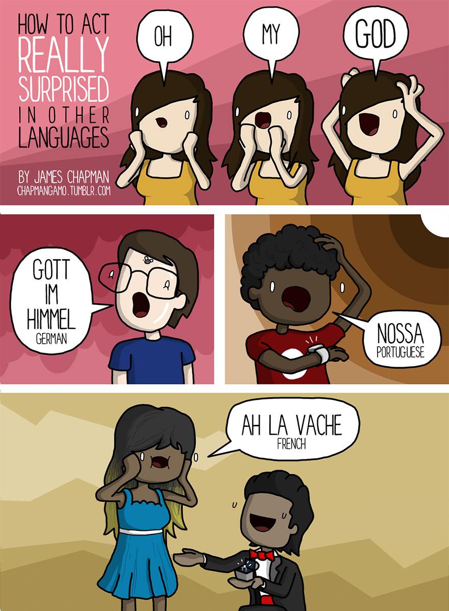 surprise in different languages