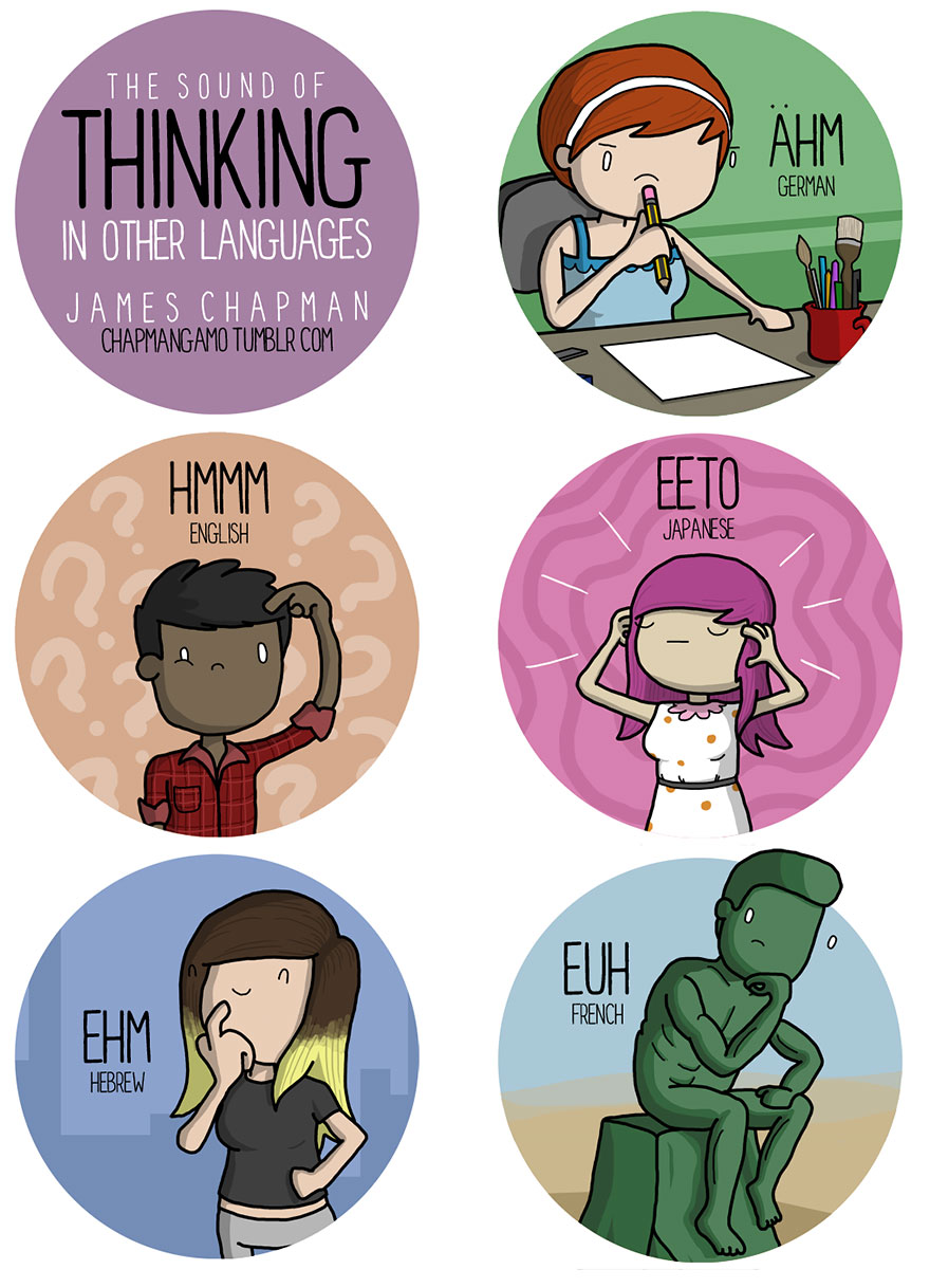 thinking in different languages