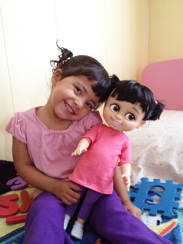 10 Babies Who Look Just Like Their Toy Dolls So Cute