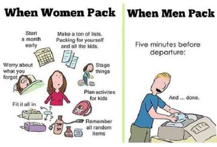 difference between men & women, amazing difference, hilarious difference, lolz, lol, wtf, wow, hehehe, funny, men between women, men vs women