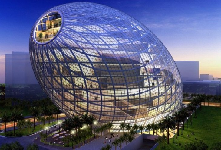 14 most amazing office buildings in india 4th is really for Amazing building designs