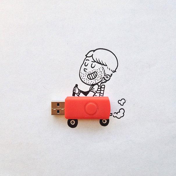 funny, creative, crazy, design, illustrations, examples, artist, creativity, Artist Alex Solis, graphic designer, Chicago-based graphic designer, chicago, designer, photography