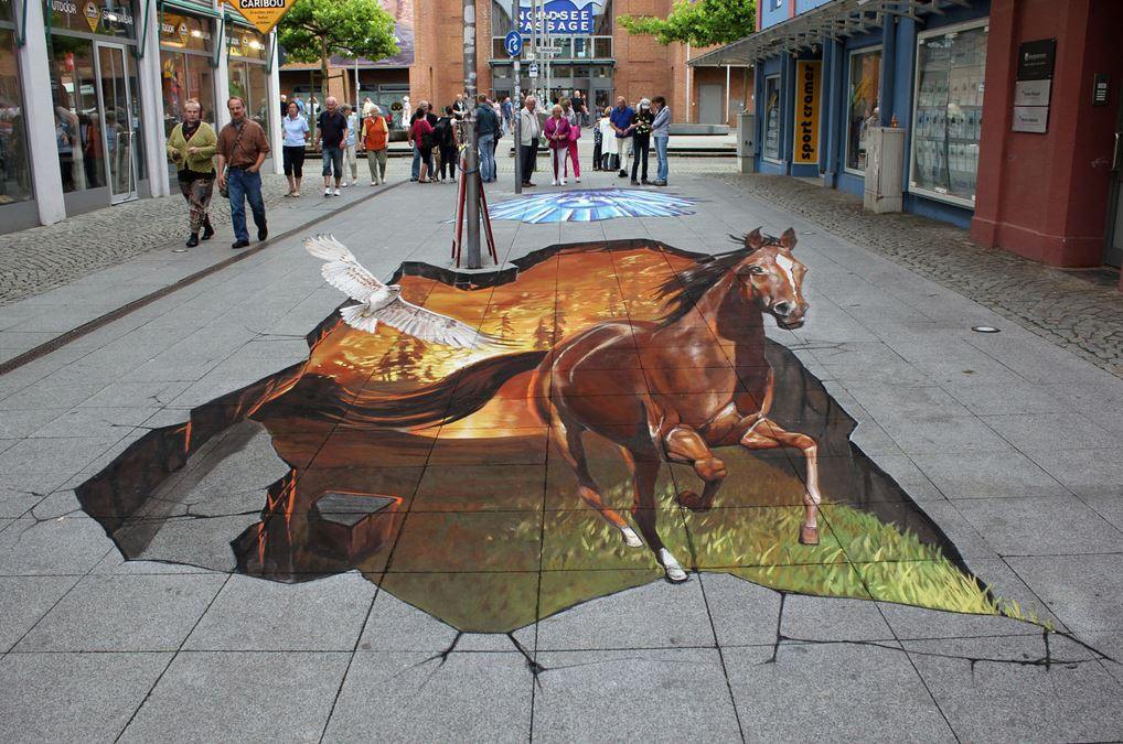 abstract art, 3d wall art, optical illution, 3d illution,pavement art,graffiti