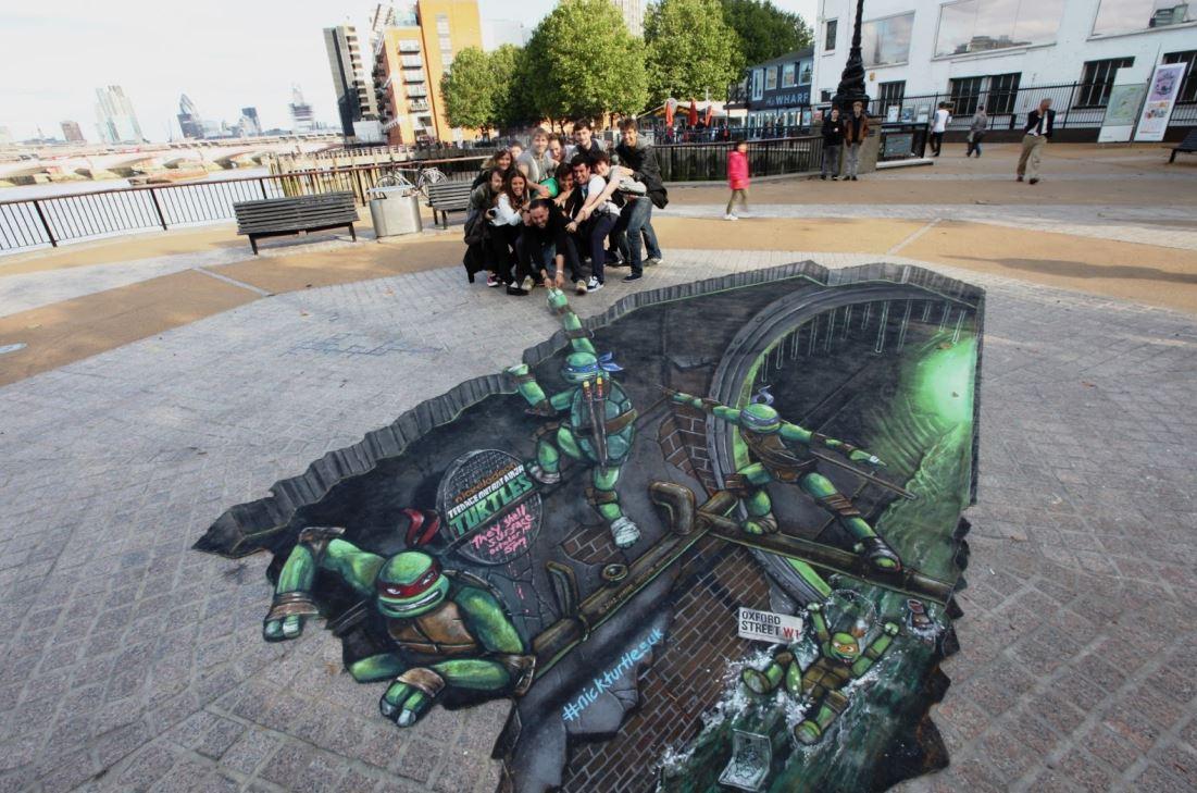 15 Mind Blowing 3D Street Art Illusions | Must See | Reckon Talk for Street Wall Art Illusions  45hul