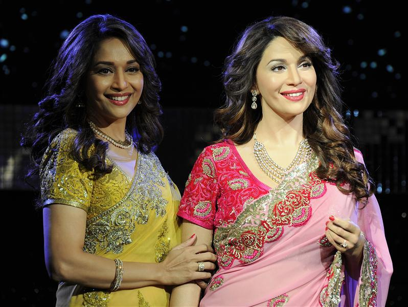 Super 8 Bollywood Stars At Madame Tussaud's Wax Museum London 2015  DW52
