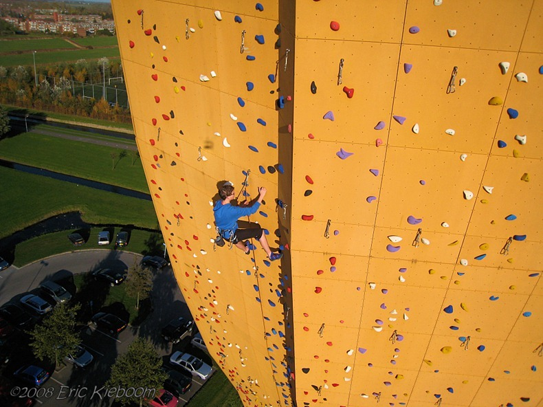 building, climbing wall, Tallest clombing wall, omg, awsome, amazing, wow, world, Excalibur, World's Tallest Climbing Wall, Groningen, Netherlands, Groningen Netherlands, Klimcentrum Bjoeks, Bjoeks Climb Center, tower, adventures