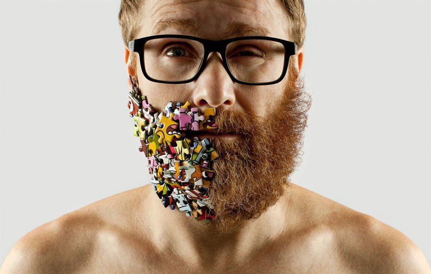 Artist, creative, photography, art director, Adriano Alarcon, Downtown Sao Paulo, photographer, project, weird, amazing, lol, wtf, weird beard, photoshoot, funny