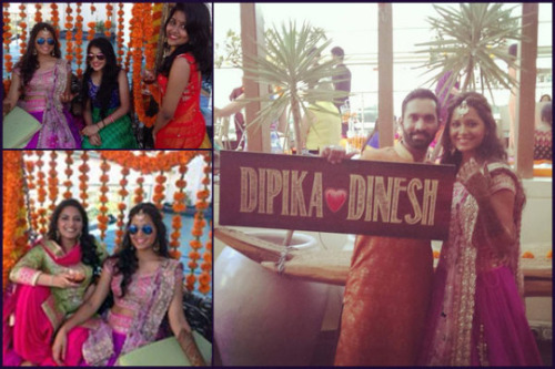 wedding, marriage, dinesh, dinesh kartik, cricket, indian cricketer, indian cricketer dinesh kartik, dipika pallikal, squash player, indian squash player, dinesh kartik wedding, dipika pallikal wedding, dinesh & dipika, dinesh kartik engagement, Christian Wedding, hindu telgu wedding, couple, lovely couple, sporty couple, wedding celebration