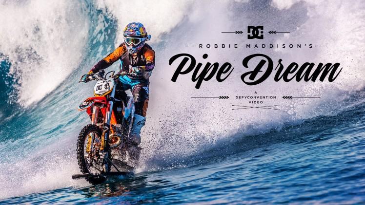 ROBBIE MADDISON, bike on water, motorcycle on water, bike rider, stunt rider, Australia, Tahiti, modified motorcycle, viral video, trending