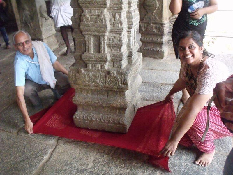 Lepakshi Temple With Hanging Pillar Hidden Wonders Of
