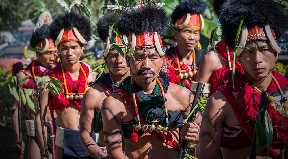 15 Extraordinary Photos Of Indian Naga Tribes | Hornbill Festival