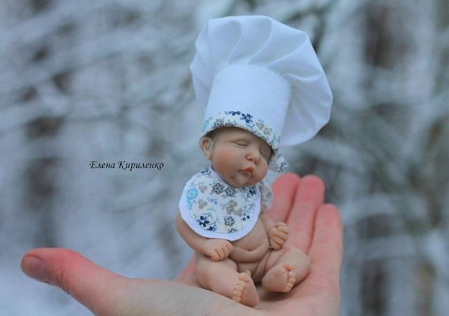 Elena Kirilenko, Elena Kirilenko dolls, polymr clay dolls, russian, real doll, cute, creative, art, Pskov, OOAK dolls