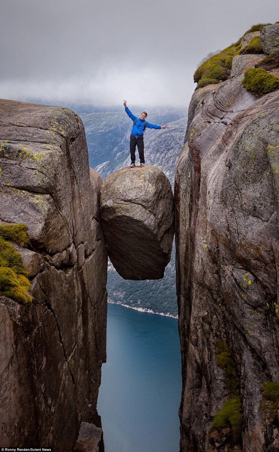 Hiking, rock climbing, Kjeragbolten, death, World's Best Hikes, Norwegian mountains, norway, Travel, Stavanger, Amazing Places on our Planet, Incredible, photography, europe