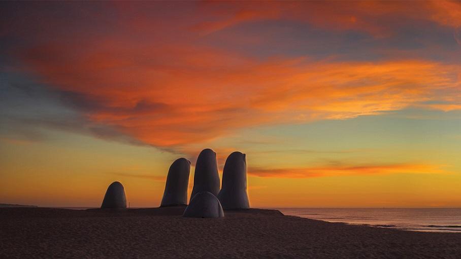 Uruguay's Hand of Punta del Este
