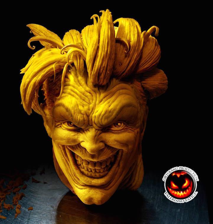 Innovative pumpkin sculpture to spice up the season