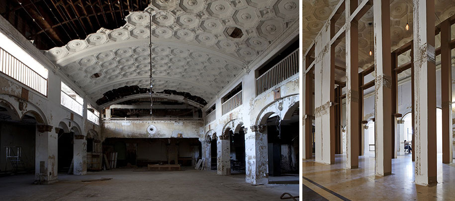 old building, Stoney Island, art, theaster gates, rebuild foundation, idea, creative, meaningful, artist, art center, art, history, Chicago, abandoned building, Stony Island Trust, Savings Bank building, great, wow, amazing, awesome