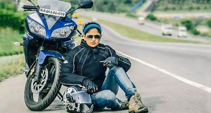 Roshni sharma Biking Trip from Kanyakumari to Kashmir (11)