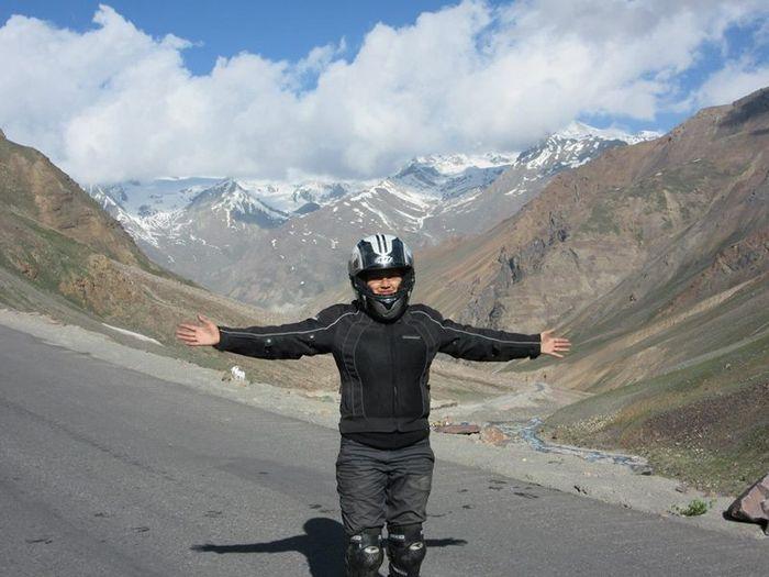 Roshni sharma Biking Trip from Kanyakumari to Kashmir (12)
