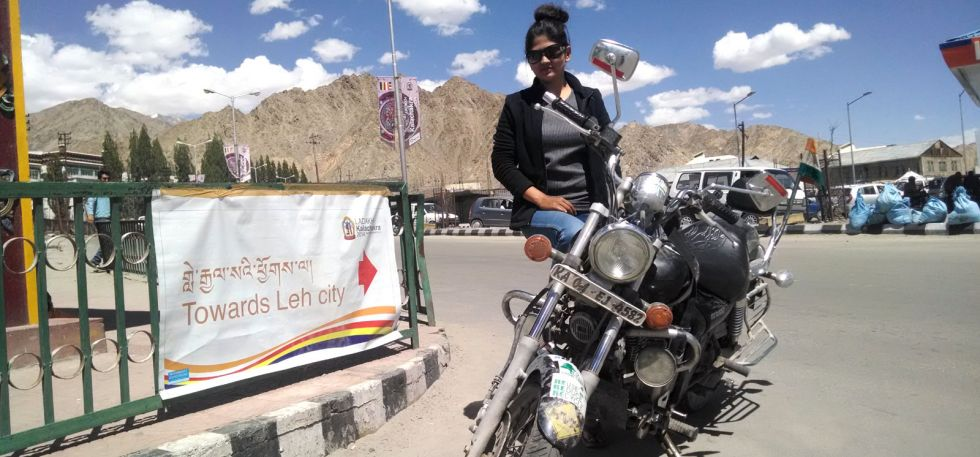 Roshni sharma Biking Trip from Kanyakumari to Kashmir (15)