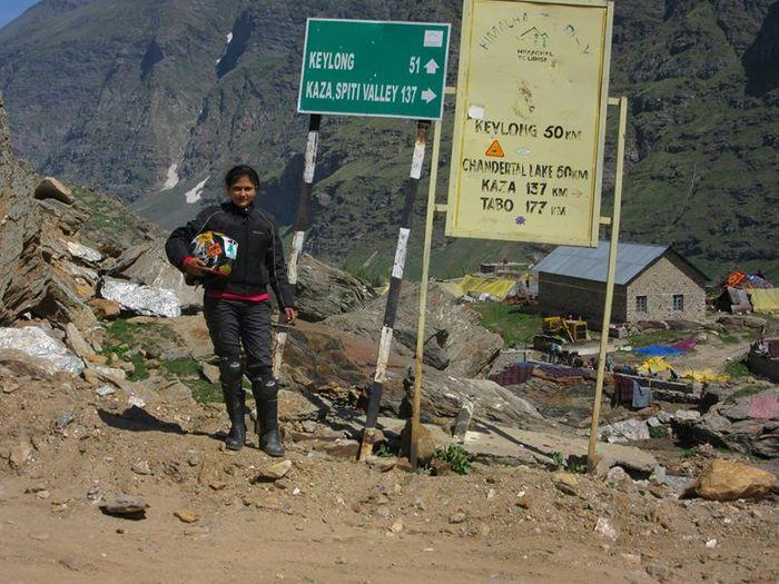 Roshni sharma Biking Trip from Kanyakumari to Kashmir (5)