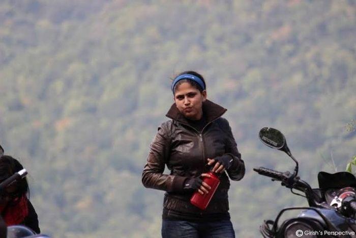 Roshni sharma Biking Trip from Kanyakumari to Kashmir (6)