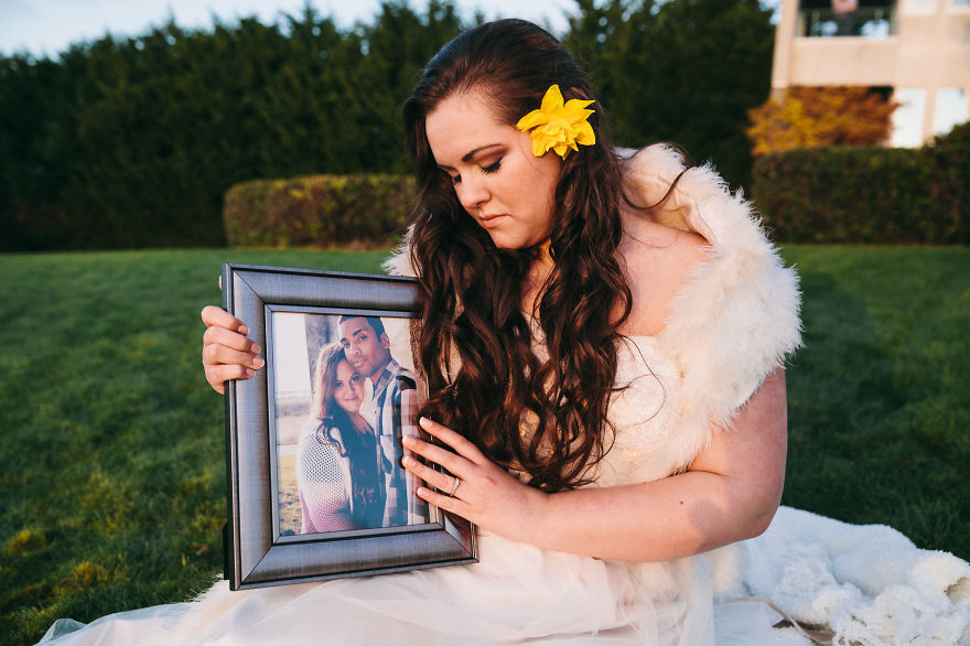 Tribute To Fiance By Memorial Photo Shoot
