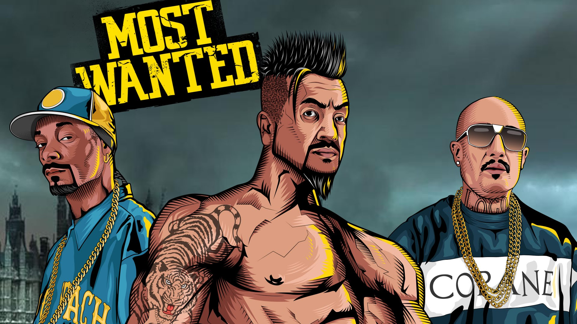 most wanted, jazzy b, snoop dog