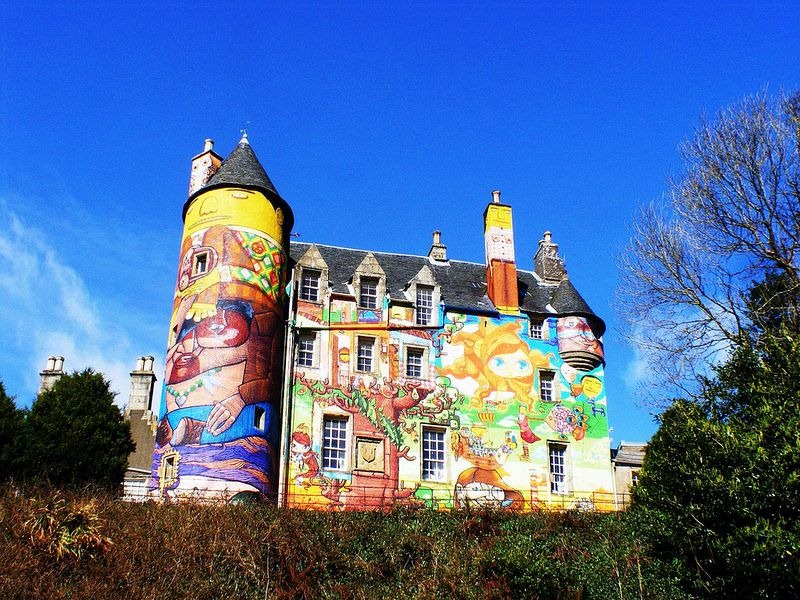 Kelburn Building, castle, scotland, Earl of Glasgow, boyle, oldest building, amazing, awesome, historic, beautiful, graffiti, photography, art, artist