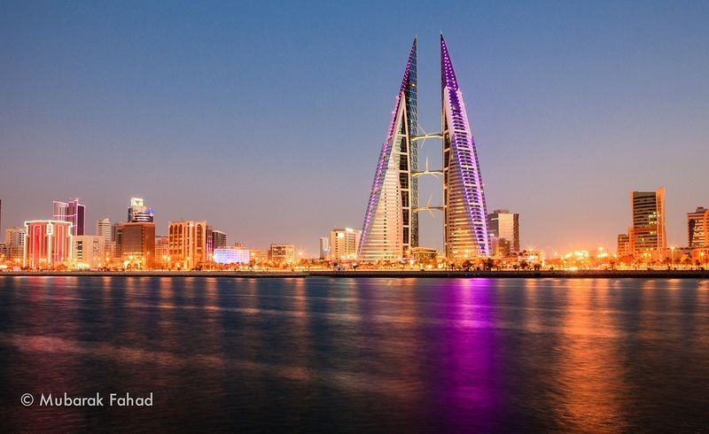 World Trade Center, Bahrain, Manama, skyscraper, building, wind turbines, amazing, awesome, beautiful, tower