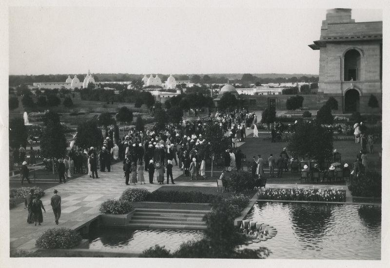 Delhi Durbar Garden Party at the Viceroys House - 1911