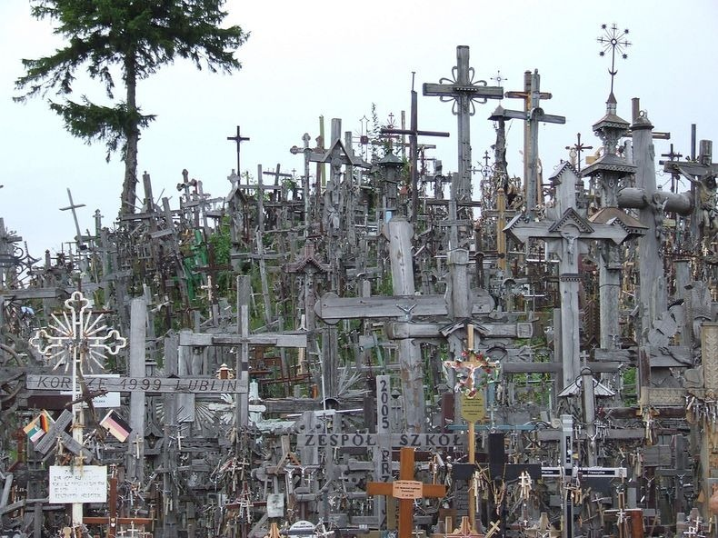 hill of crosses, siauliai, lithuania, tourism, europe, documentary, visitors, tourist attraction, mysterious, baltic states