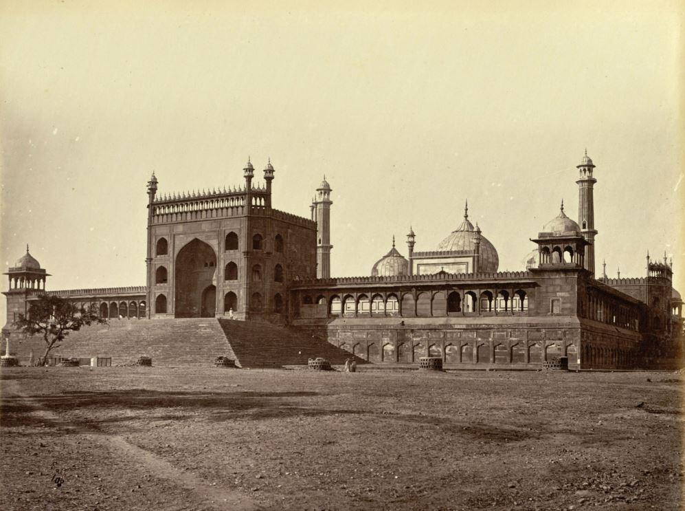 The-Juma-(Jami)-Musjid,-Delhi--1875