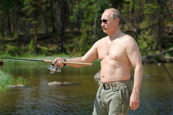 puting fishing