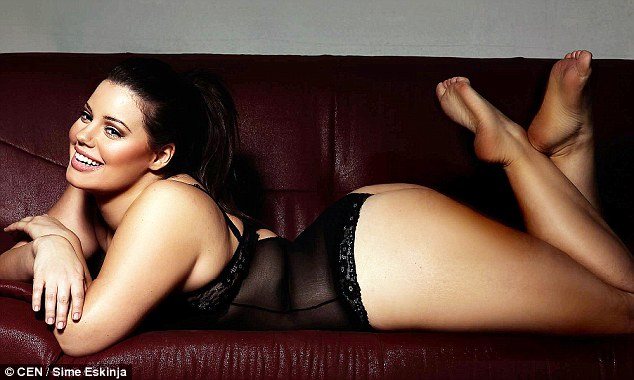 Lucija Lugomer Model Fashion Amazing Plus Size Sexiest Hottest