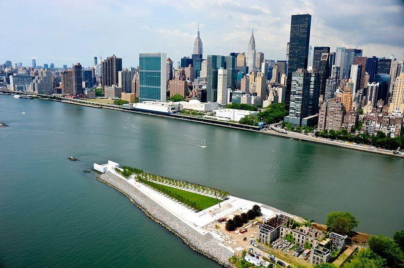 park, four freedoms park, franklin d. roosevelt, newyork, beautiful, design, creative, amazing, architecture, historic, art