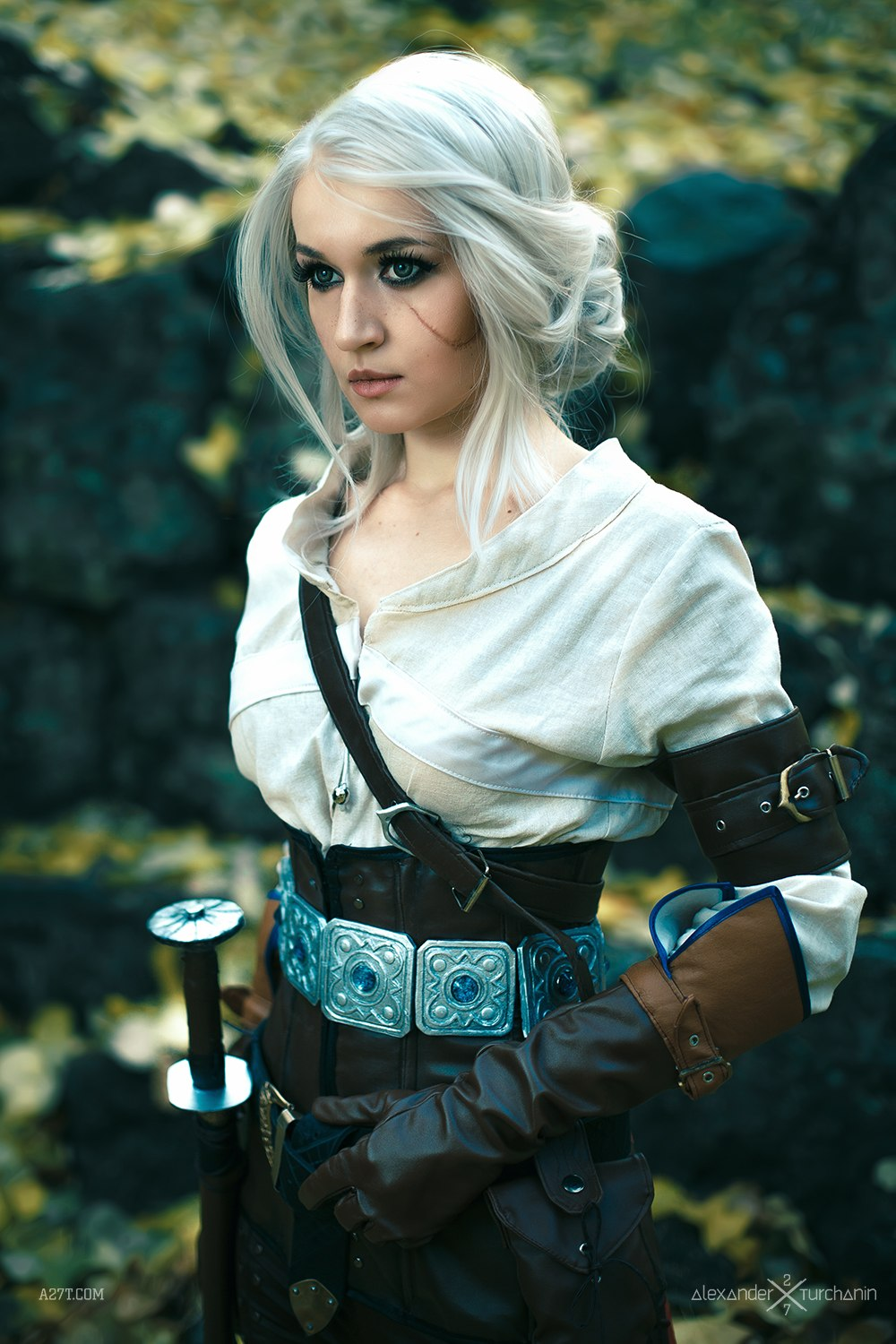 game of thrones, emilia clarke, daenerys targaryen, game of thrones cast, ciri, the witcher 3, photoshop, cosplay