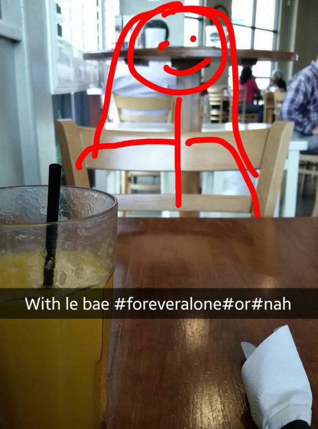 funny, internet, memes, forever alone, forever alone kid, hilarious, humor, WTF, lol, bored, lonely