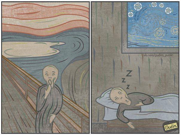 russia, russian, art, artist, memes, viral, anton gudim, moscow, drawing, humor, unusual, weird