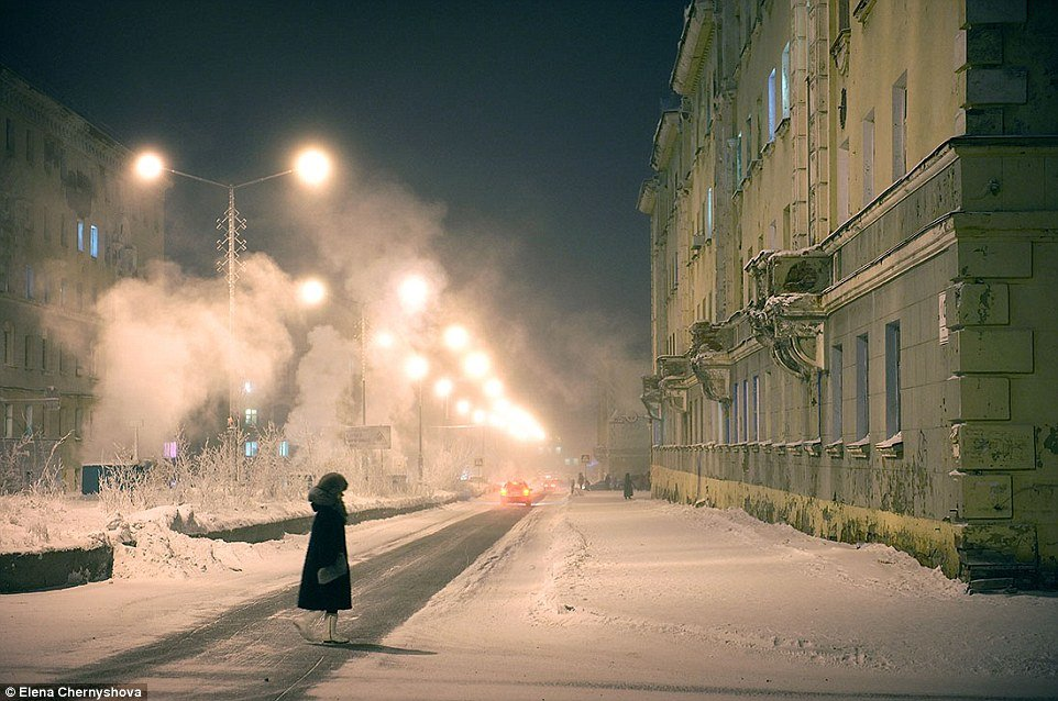 coldest city, norilsk, siberia, russia, russian winter, arctic circle, world's northernmost city, norilsk weather, norilsk life, norilsk people, norilsk photo