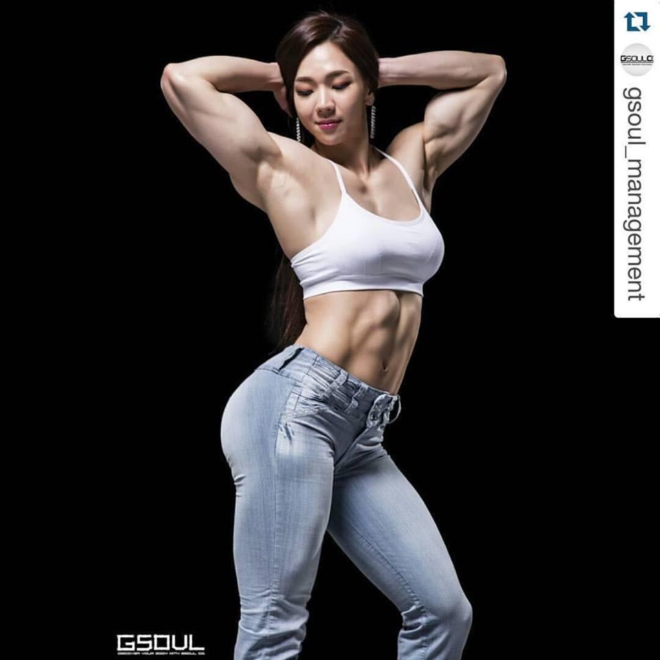 Bodybuilding girl