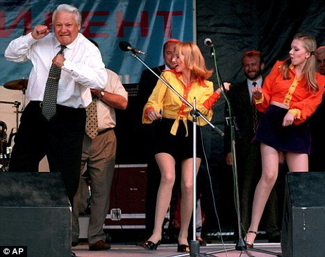 blooper, boris yeltsin, funny, wtf, viral, politics, coolest president, russian, russia, boris yeltsin drunk, soviet, world leader, russian leader, boris yeltsin dance, bill clinton