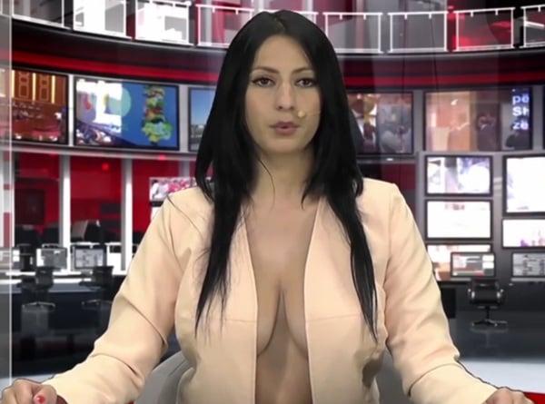 hottest news, hottest news anchor, hottest news reporter, news anchor, news reporter hot, topless newsreader, albanian reporter, enki bracaj, enki bracaj hot, enki bracaj video, enki bracaj instagram, enki bracaj boobs, enki bracaj audition, enki bracaj pics, sexiest tv reporter, sexiest news anchor, albania, viral video