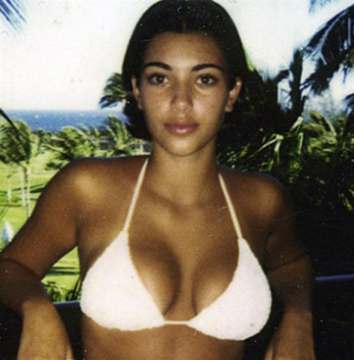 Kim Kardashian Young Old Photos sexy Tape video (7) | Reckon Talk