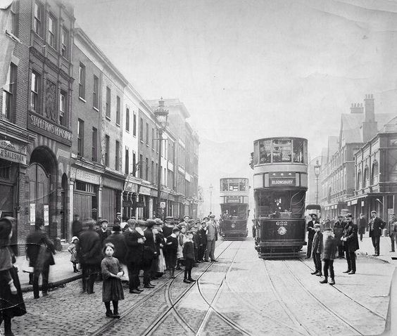 downtown london old photo, ,london ,london old photo,london old pics,never seen london ,unseen photo london ,unseen london, london tram