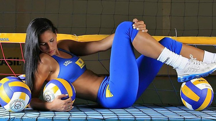 Sexy track and field girls