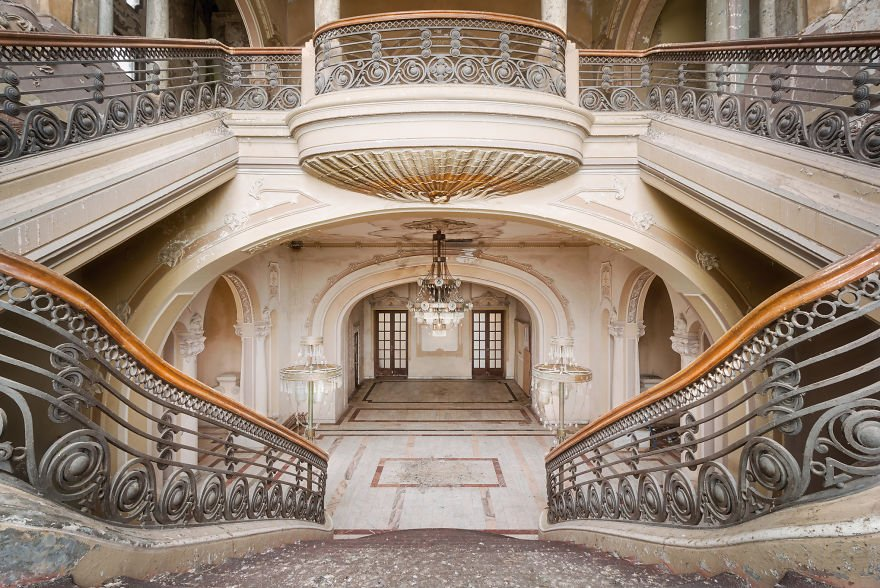 casino, photography, architecture photography, Constanta, Roman Robroek, Romania, building, monument, awesome, art