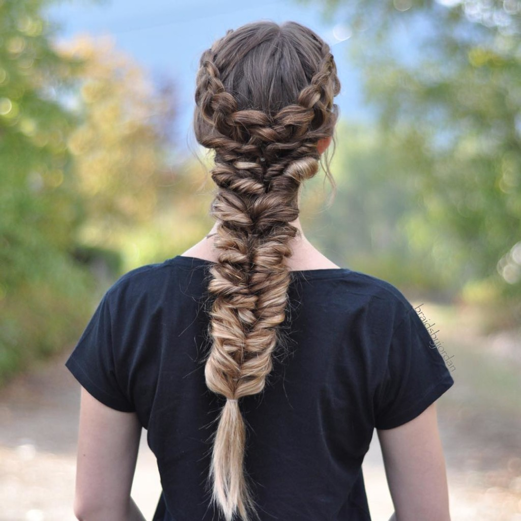 how to make dutch braids look thicker